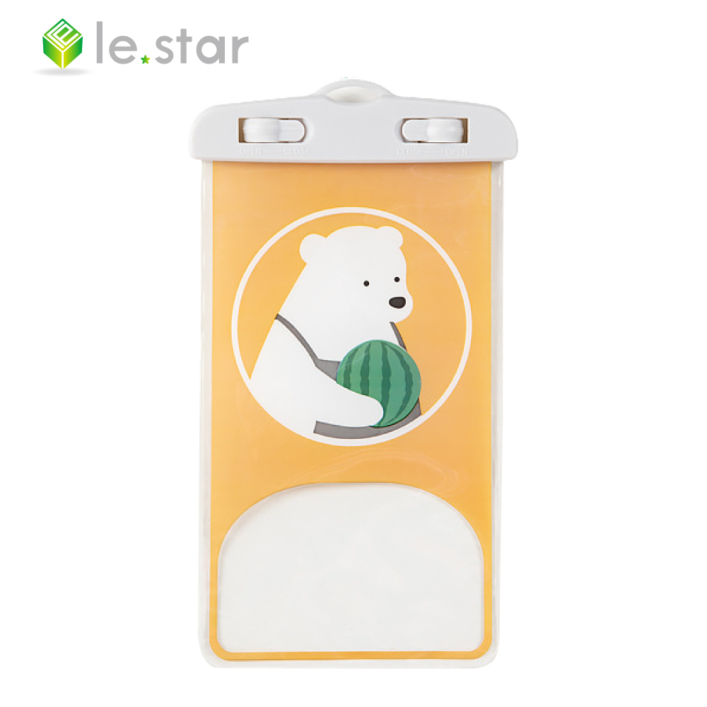 lestar 稚趣萌寵手機防水袋(通用版) 嘟嘟熊