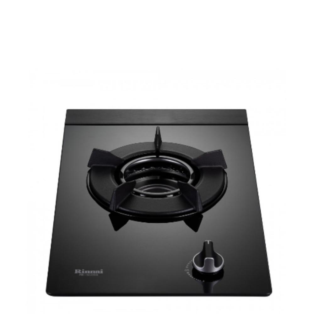 (全省安裝)林內單口內焰玻璃檯面爐內焰爐鑄鐵爐架黑色(與RB-N100G-B同款)瓦斯爐RB-N100G-B_NG1
