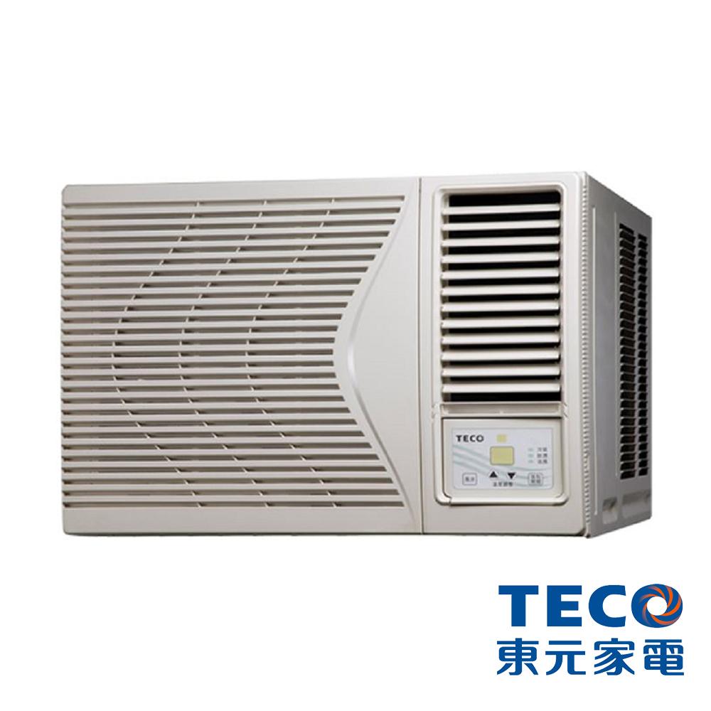 【TECO 東元】4-6坪窗型定頻右吹冷氣 MW36FR1