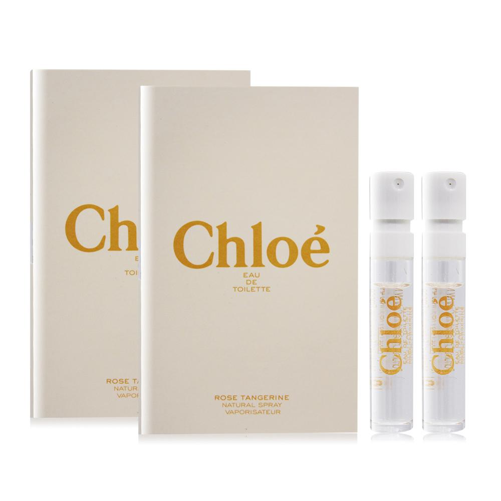 Chloe' 沁漾玫瑰女性淡香水 Rose Tangerine(1.2ml)X2 EDT-隨身針管試香