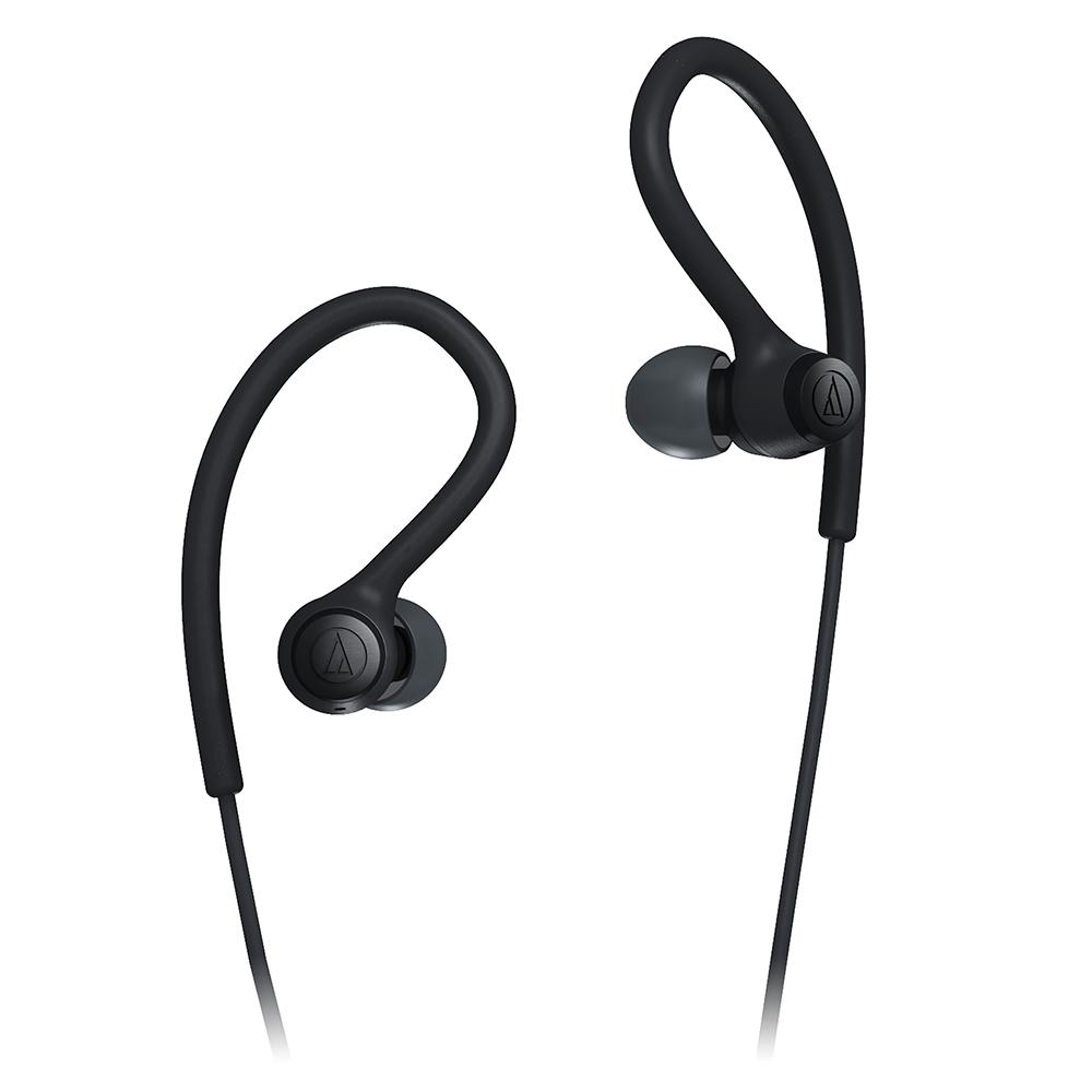 鐵三角 ATH-SPORT10 黑色 防水防汗 耳掛式 運動耳機