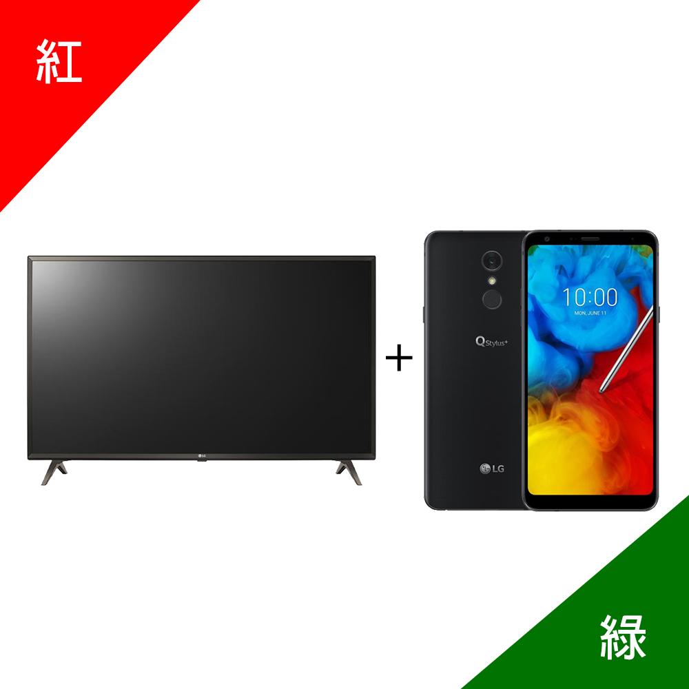 LG 43UK6320PWE送基本安裝 加 LG Q Stylus+【尾牙特別組】