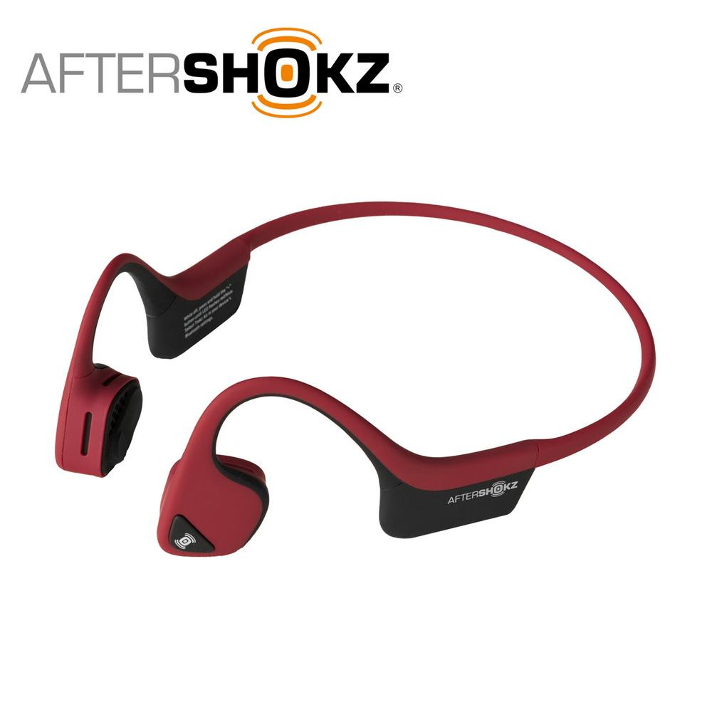 AFTERSHOKZ Trekz Air AS650骨傳導藍牙運動耳機(丹霞紅)
