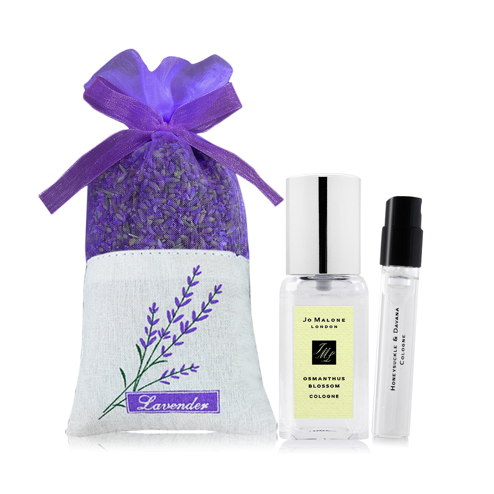 Jo Malone 秘境花園桂花古龍水 Osmanthus Blossom(9ml)-贈品牌針管+薰衣草香氛包