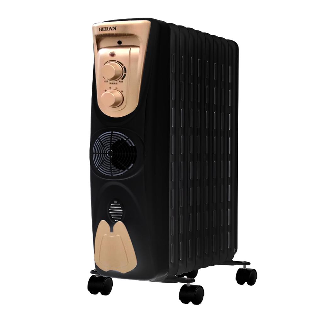 【HERAN】禾聯葉片式電暖器(11片)151M1YB-HOH※買再送烘衣架HCS-OHM2※