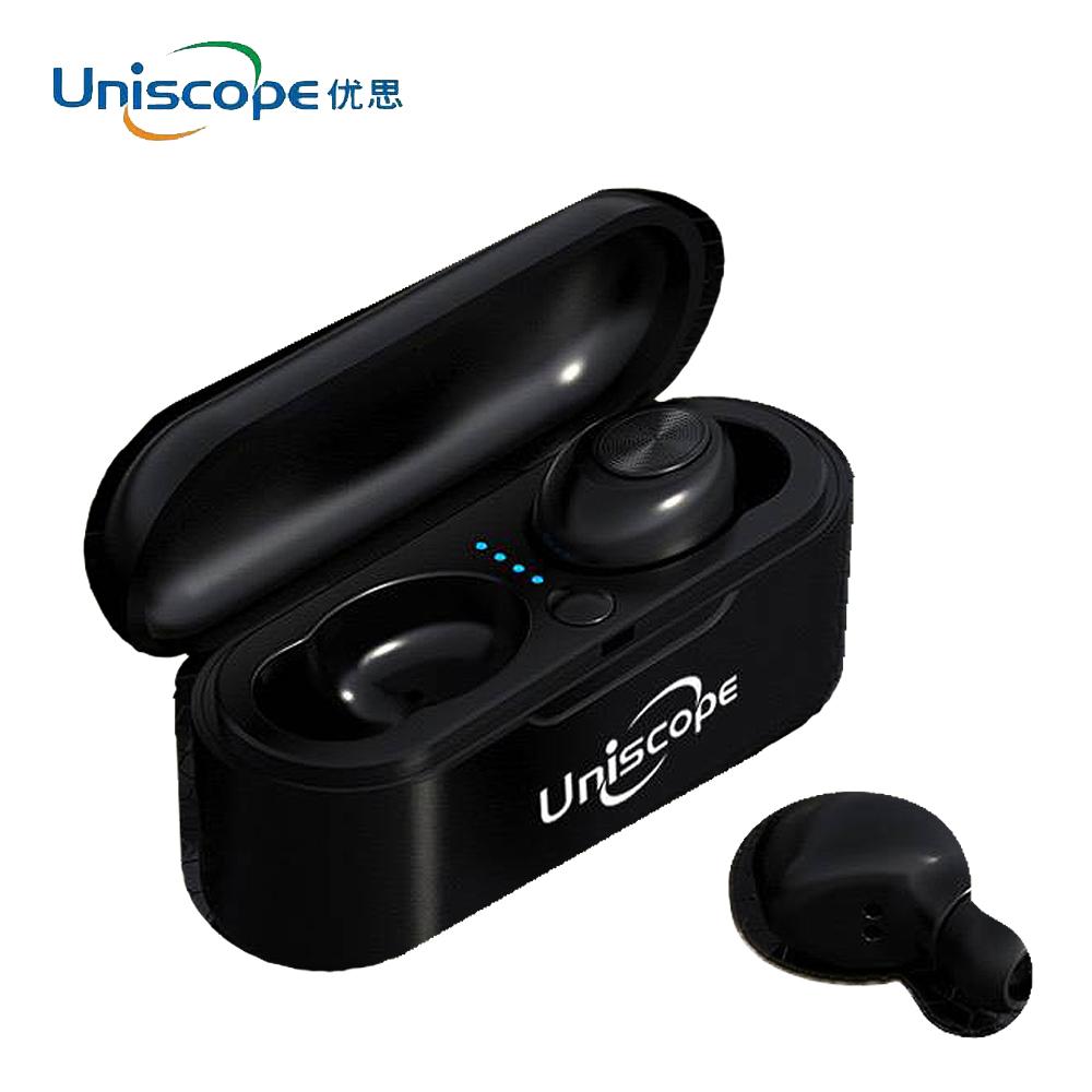 Uniscope優思 馬卡龍系列藍牙耳機-鑽石黑S20+(K)