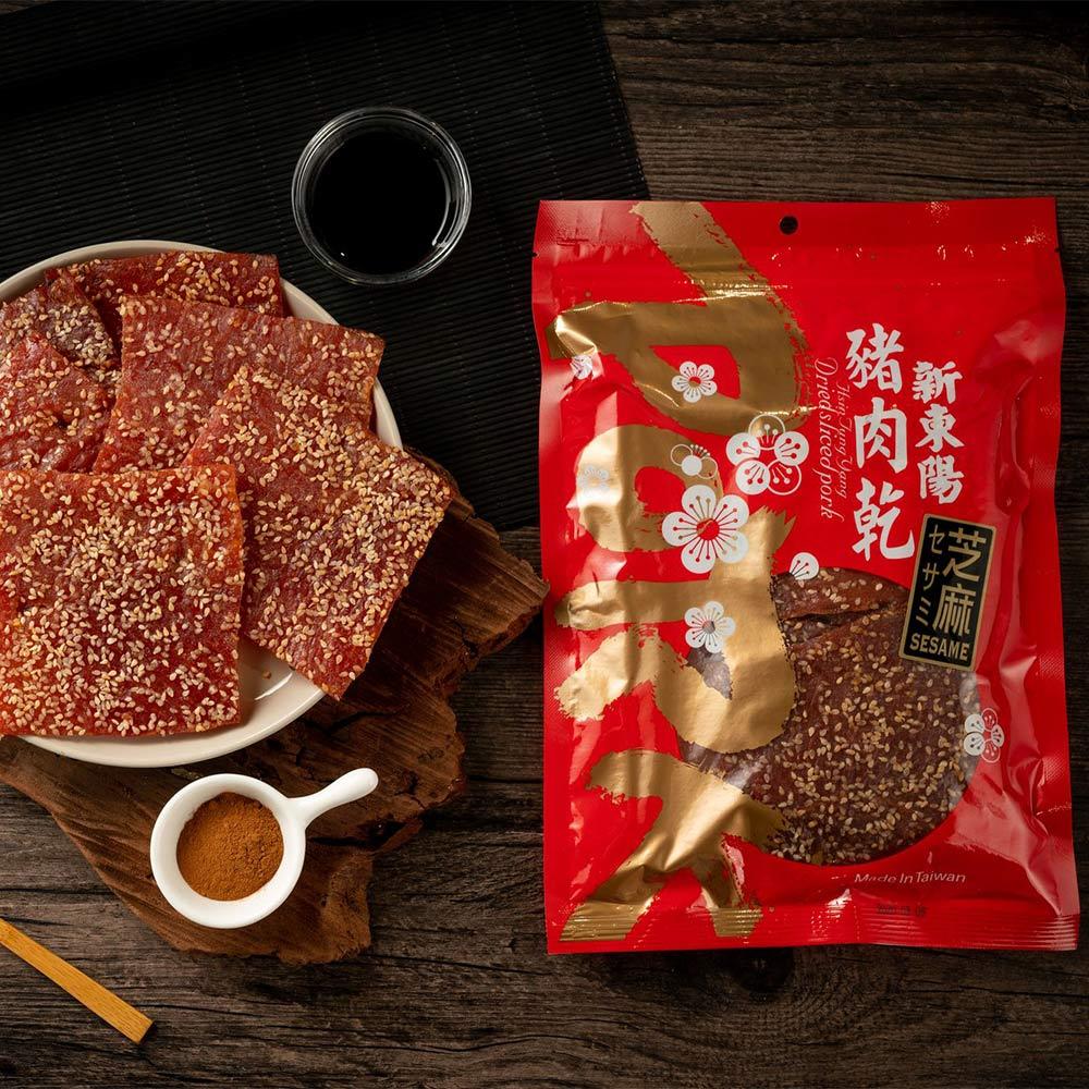 【新東陽】碳烤芝麻豬肉乾 (275g*2包)