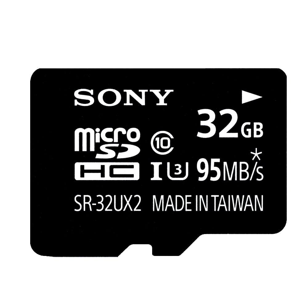 SONY 32GB microSDHC UHS-I U3 C10 極速記憶卡