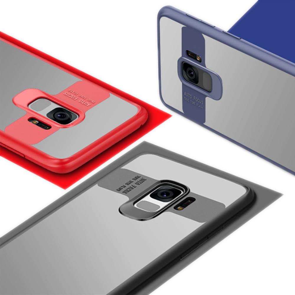 QinD SAMSUNG Galaxy S9 超薄全包覆保護套(藍色)