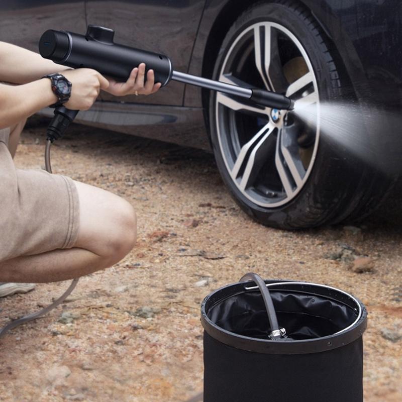 Baseus 倍思 倍動力便攜電動洗車水槍套裝組