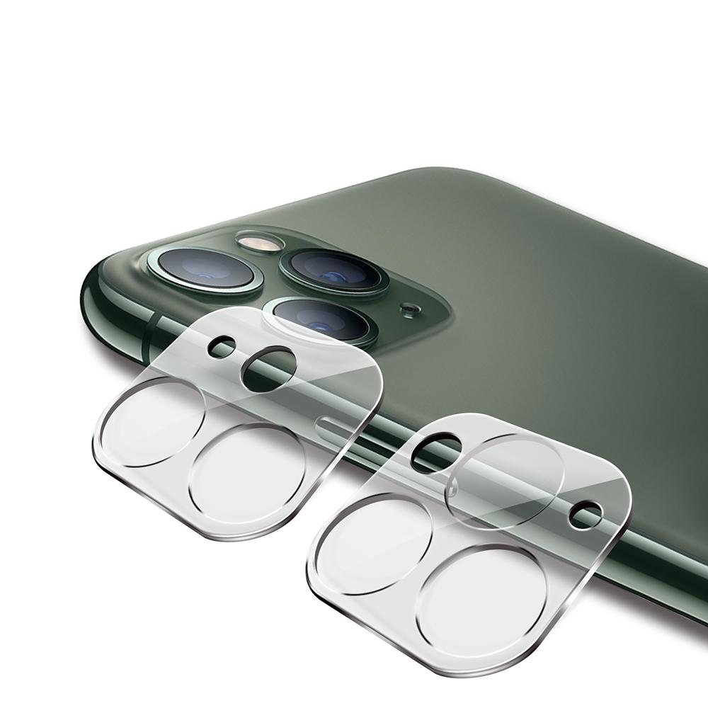 iPhone 11 Pro/ 11 Pro Max 鏡頭專用 3D立體透明全包覆 高硬度抗刮保護貼