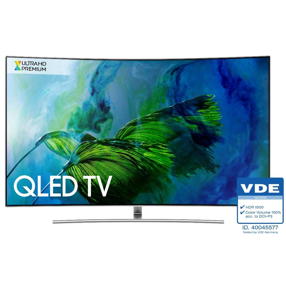 含標準安裝 三星SAMSUNG 65吋 Q8C系列 黃金曲面QLED電視 QA65Q8C/QA65Q8CAMWXZW