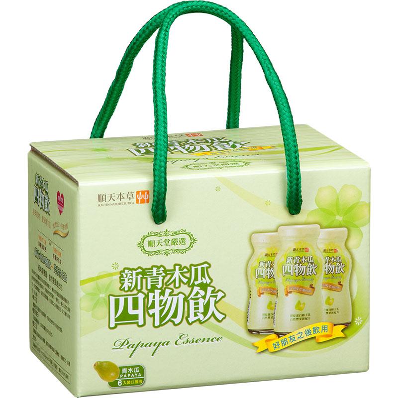 【順天本草】新青木瓜四物飲 X36瓶