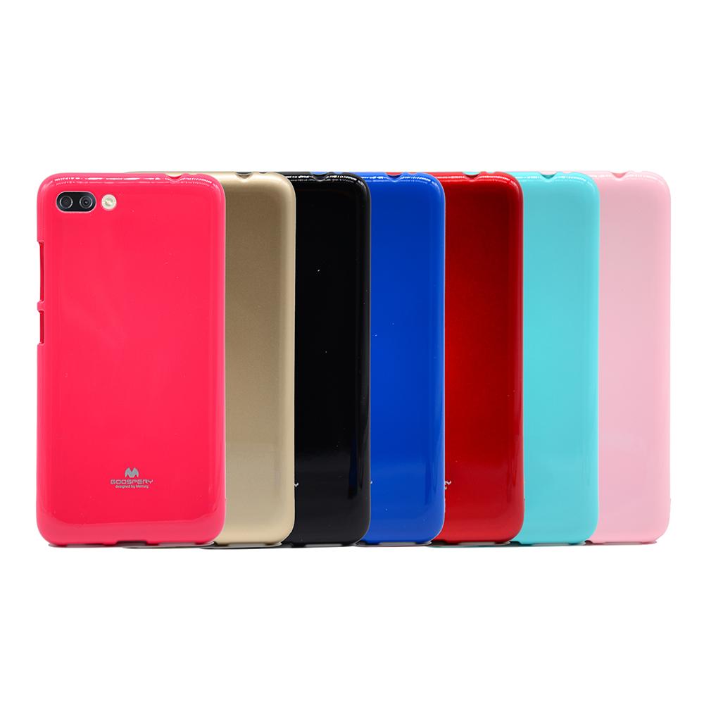 GOOSPERY ASUS ZenFone 4 Max ZC554KL JELLY 閃粉套(藍色)