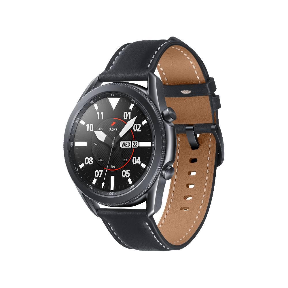 SAMSUNG Galaxy watch 3 45mm BTR840【贈無線閃充充電板】