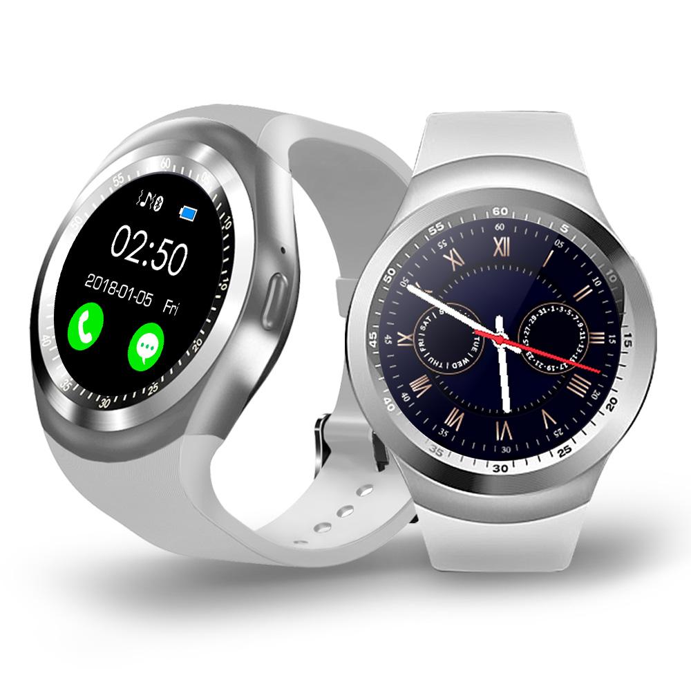 【u-ta】圓款時尚觸控智慧手錶W9(公司貨)星鑽白