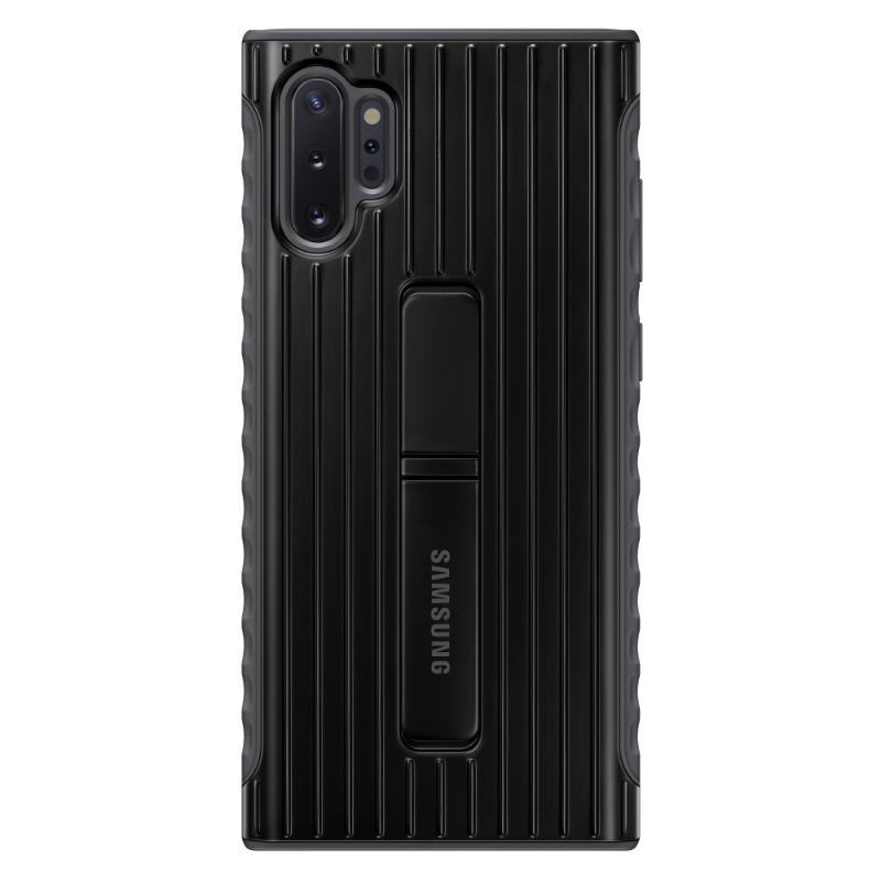 SAMSUNG Galaxy Note10+ 立架式保護皮套 黑
