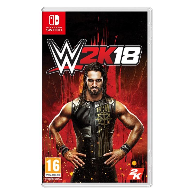 Nintendo Switch WWE 2K18_亞版英文版