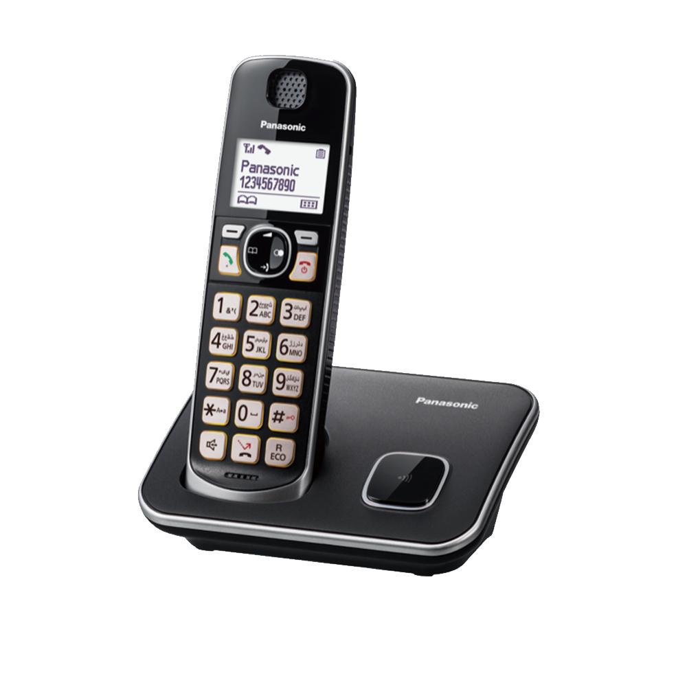 【贈國際牌負離子梳】Panasonic 國際牌 KX-TGE610TWB 可搭配助聽器無線電話