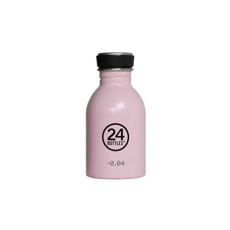 義大利 24Bottles 城市水瓶 250ml - 糖果粉