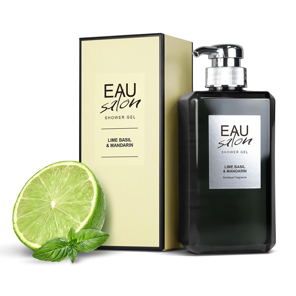 買一送一【EAU Salon】耀.沙龍 香氛沐浴露-青檸羅勒(500ml)