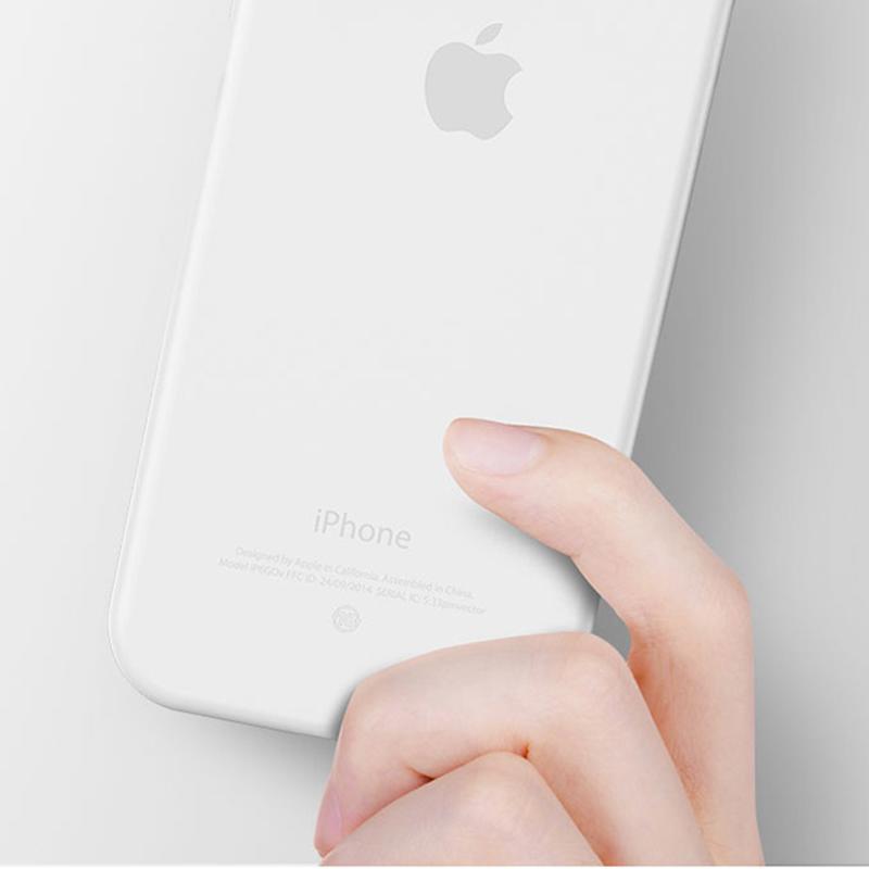 Realtaste iPhoneX超薄手機保護殼(白)