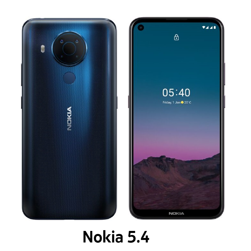 Nokia 5.4 6G/64G 6.39吋智慧型手機_藍