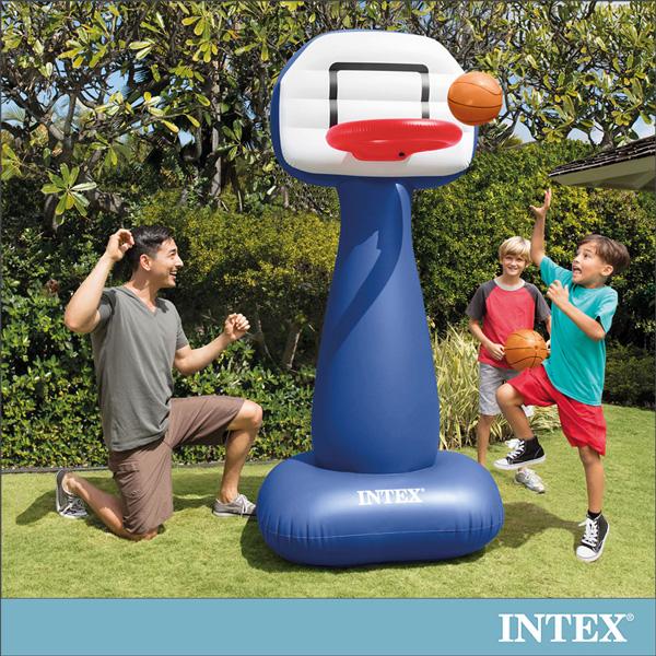 【INTEX】兒童籃球架充氣玩具(57502)