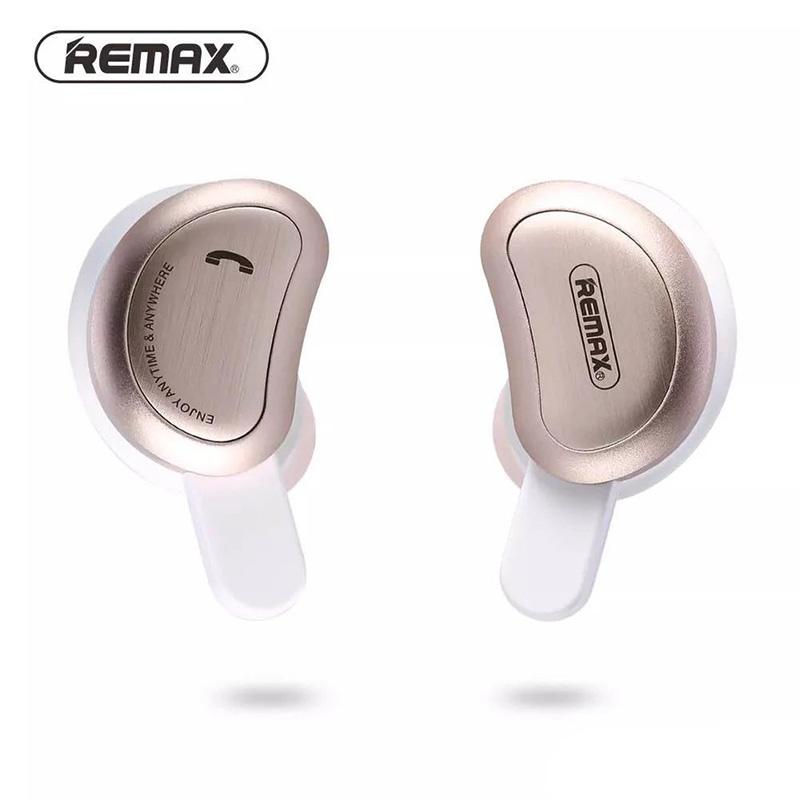 REMAX TWS-1 無線雙耳藍牙運動耳機-金色