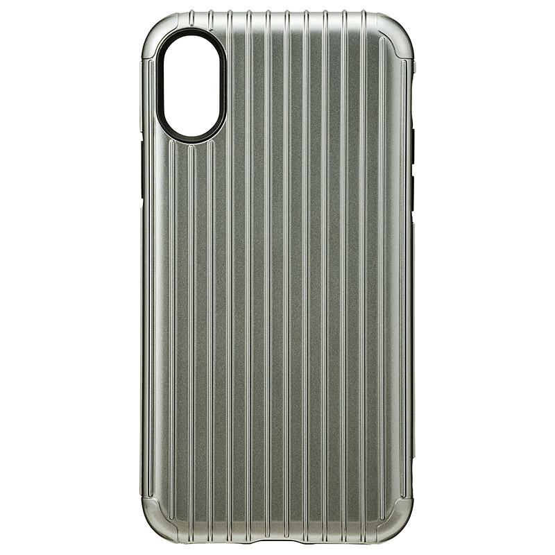 Gramas iPhoneX  經典手機殼 Rib 灰