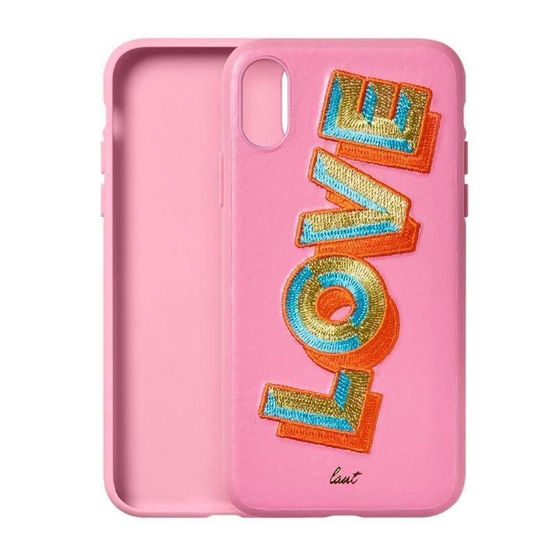 LAUT 刺繡系列保護殼 iPhoneXs Max LOVE