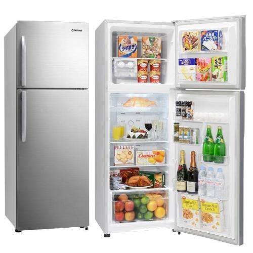 【TATUNG大同】334L雙門冰箱 TR-B334HTW-S