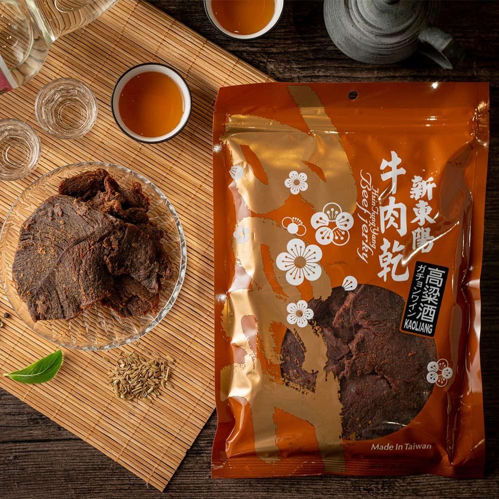【新東陽】高粱酒牛肉乾(220g*2包)