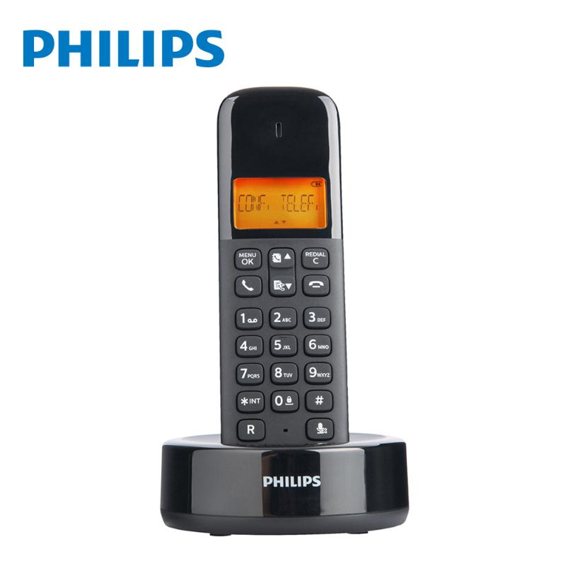 PHILIPS D1601B 無線電話 黑