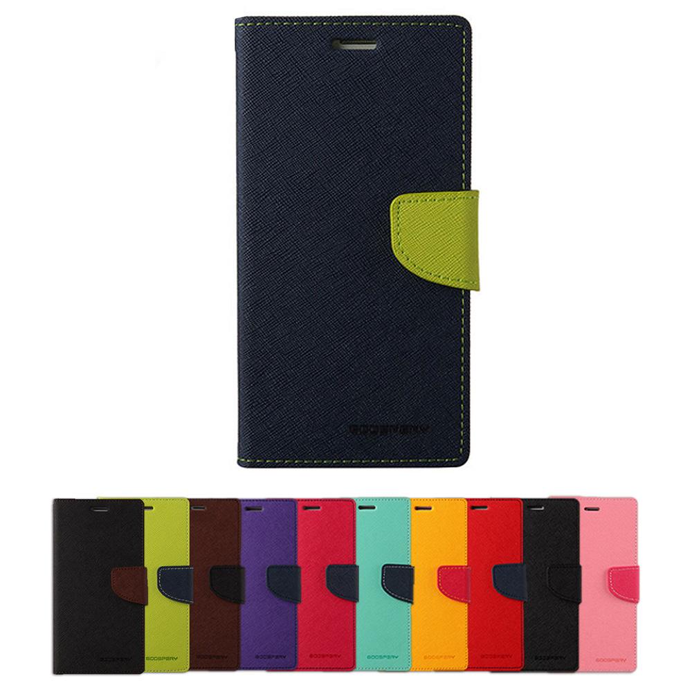 GOOSPERY SAMSUNG Galaxy S8 FANCY 雙色皮套(紅藍)
