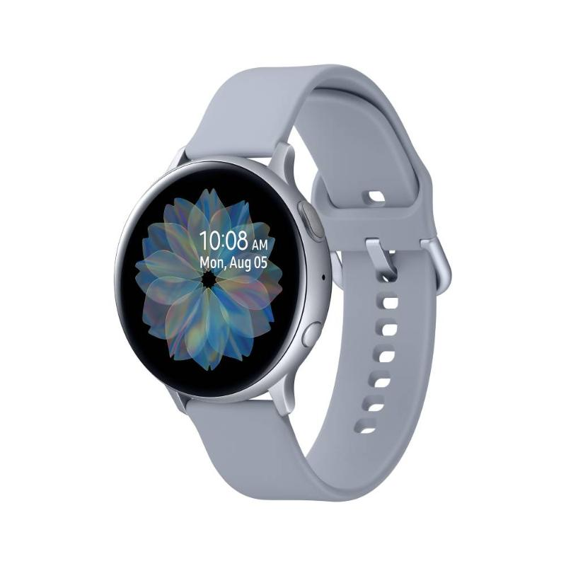 SAMSUNG Galaxy Watch Active2 GPS藍牙智慧手錶 鋁製 44mm冰川銀 R820