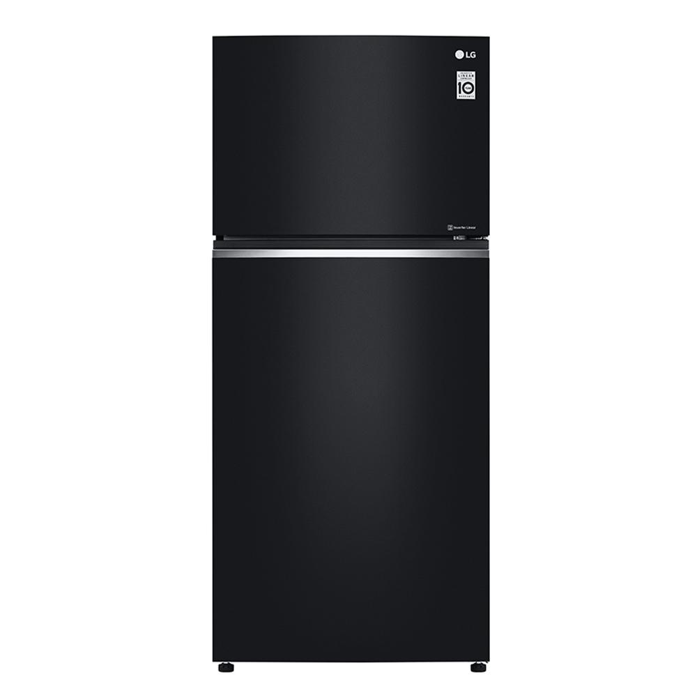 LG樂金 直驅變頻上下門冰箱/ 曜石黑/525公升 GN-HL567GB