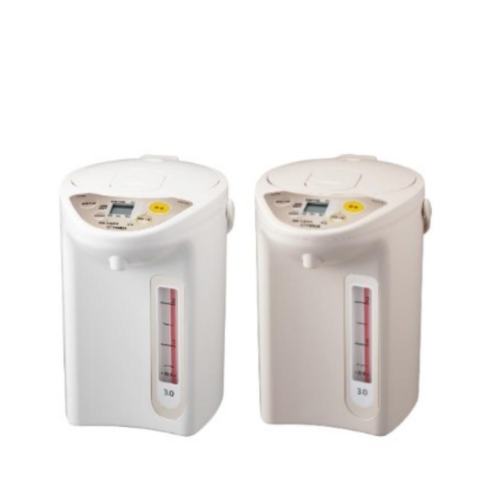 【TIGER虎牌】3.0L微電腦電熱水瓶-卡其色 PDR-S30R-CX
