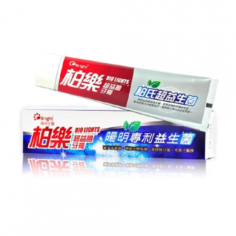 陽明生醫 Bio Light 柏樂超益菌牙膏(75g) X 3 條 - 益生菌