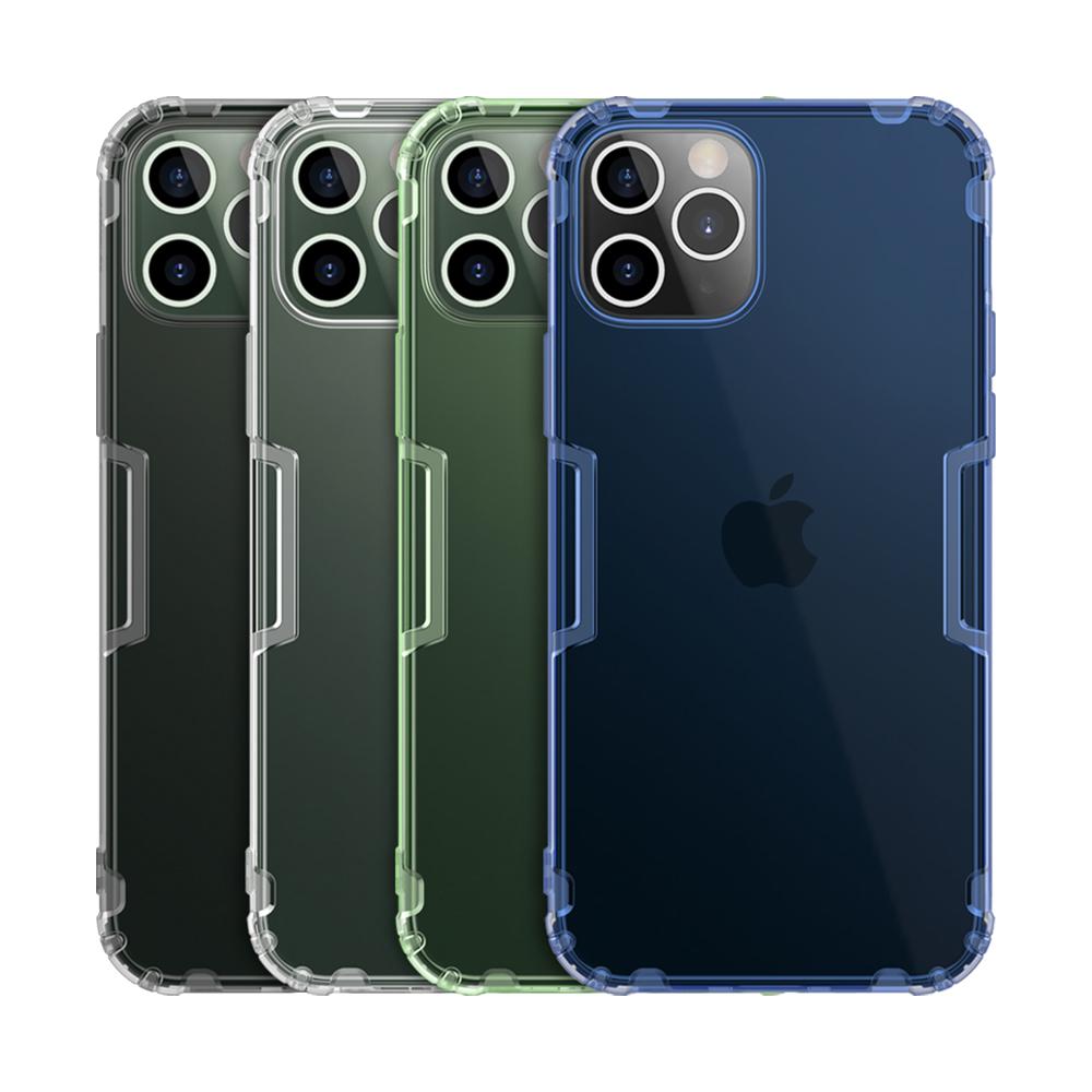 NILLKIN Apple iPhone 12/12Pro 本色TPU軟套(深灰)
