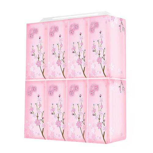 【葇葇】櫻花款抽取式衛生紙櫻花款 100抽x8包x1串