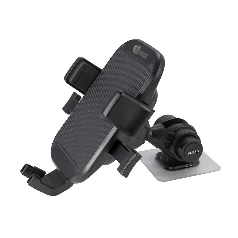 【digidock】迪克車架3M黏貼式微重力夾立式手機架 支架 固定架 導航架 GPS(ST-10S)