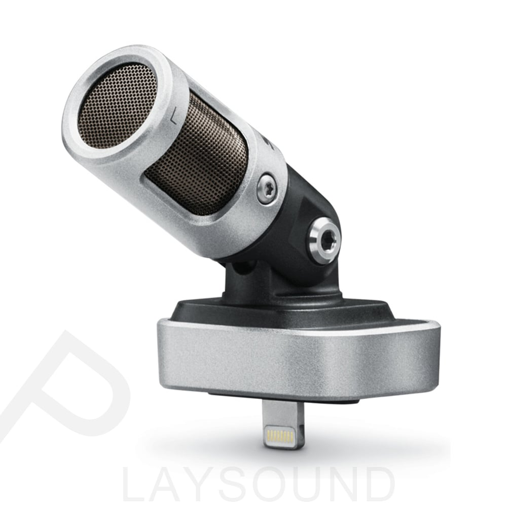 Shure MOTIV MV88 直播 錄音 專用 專業 數位立體聲電容式麥克風