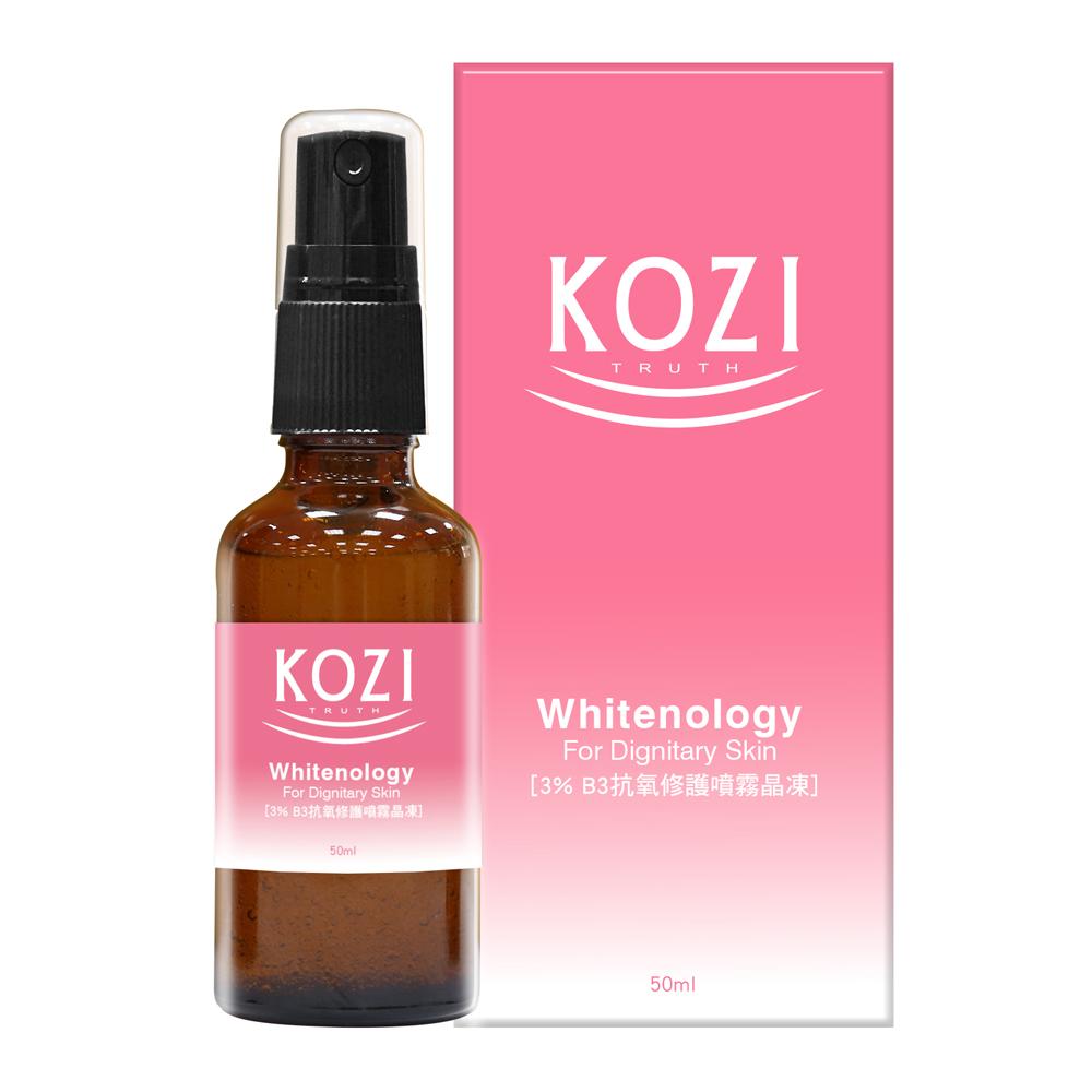 買一送一【KOZI蔻姿】淨膚煥顏系列 3%抗氧修護噴霧晶凍(50ml)