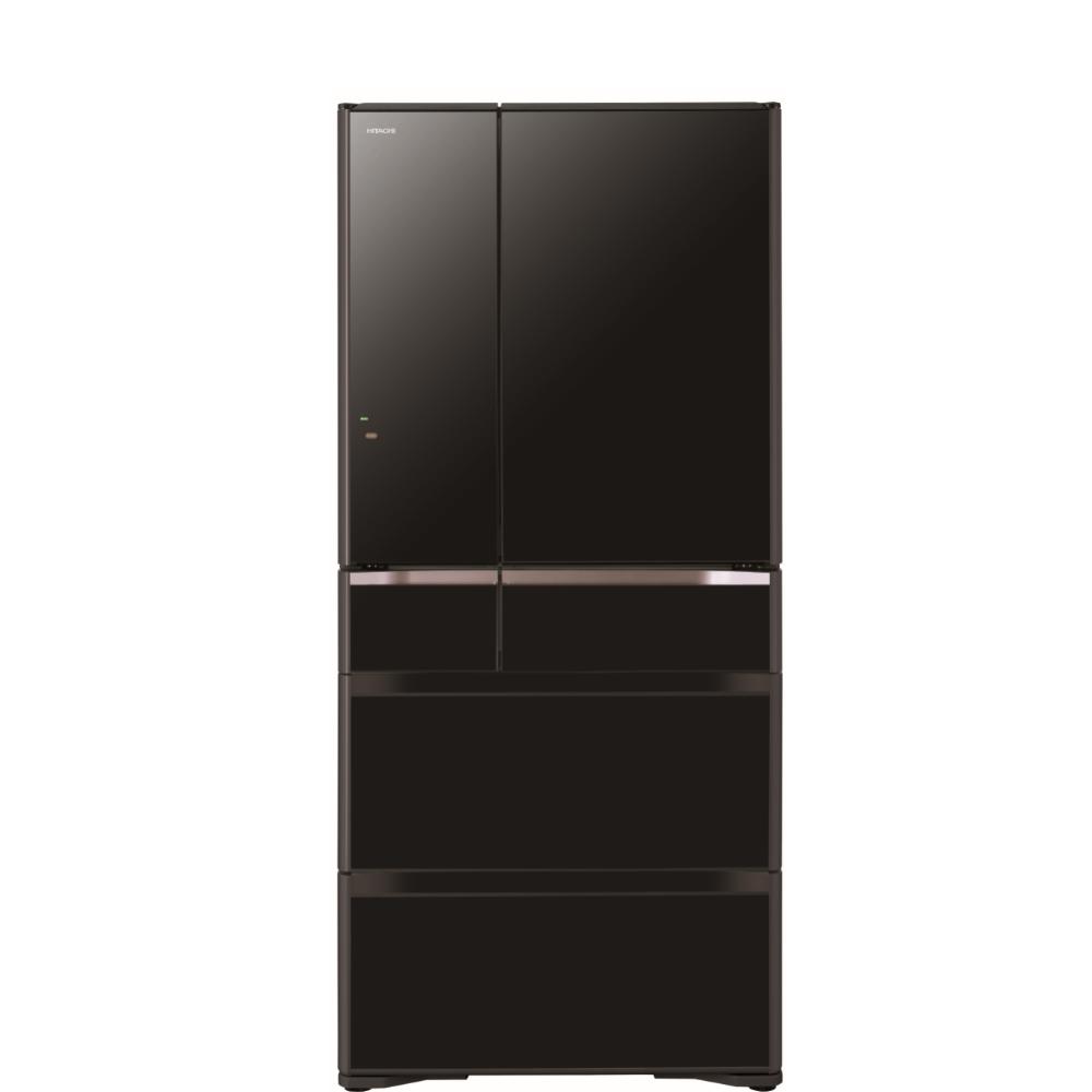 日立676公升六門-鏡面(與RXG680NJ同款)冰箱XK琉璃黑RXG680NJXK