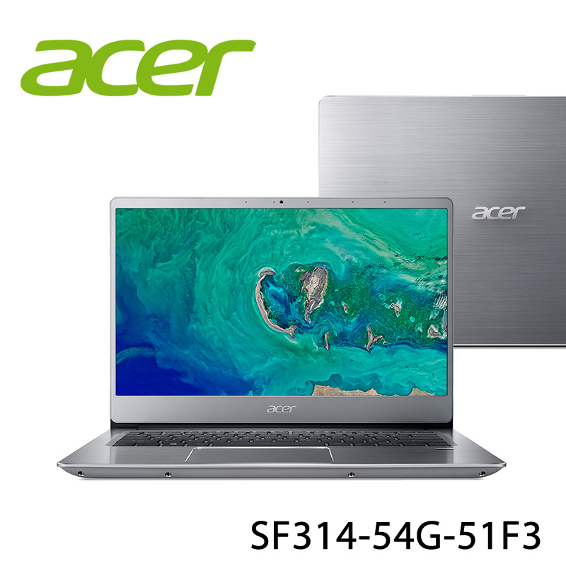 【ACER宏碁】SF314-54G-51F3 14吋 筆電-送美國OSTER 隨行杯果汁機 90th紀念款(市價1580元)+無線滑鼠