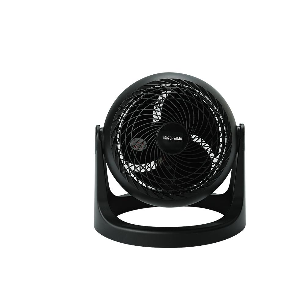 【日本IRIS】PCF-HE18 (黑色) 空氣對流靜音循環風扇 公司貨 保固一年