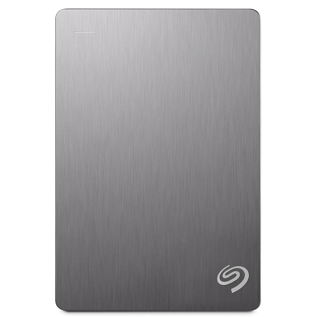 Seagate Portable Backup Plus 5TB 2.5吋可攜式行動硬碟-(銀)