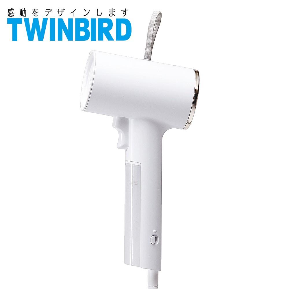 TWINBIRD美型蒸氣掛燙機(白色)