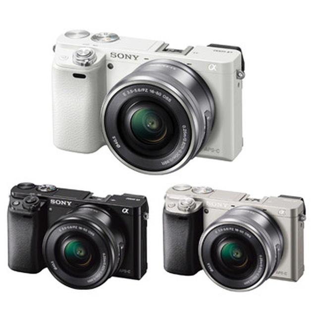 SONY A6000L 16-50mm單鏡組-銀色 送64G高速卡超值組公司貨~